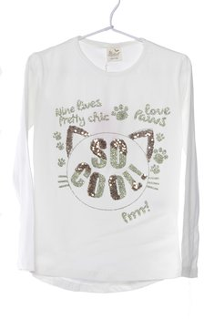T-shirt Fantasia Manica Lunga