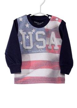 T-shirt Manica Lunga USA