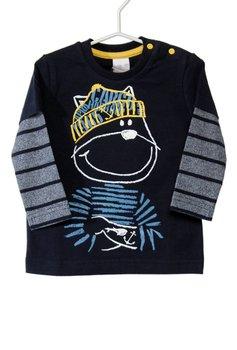 T-shirt Manica Lunga Gatto