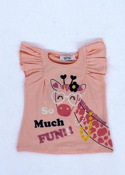 T-shirt giraffa